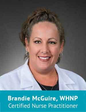 Brandie McGuire, WHNP